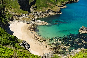 Find a hidden Cornish cove