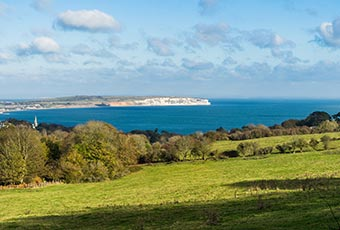 IOW rural sea views