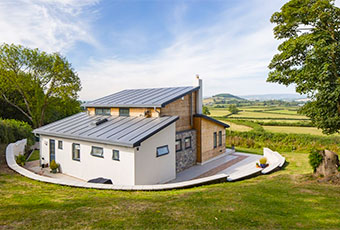 Rural holiday cottage in Devon